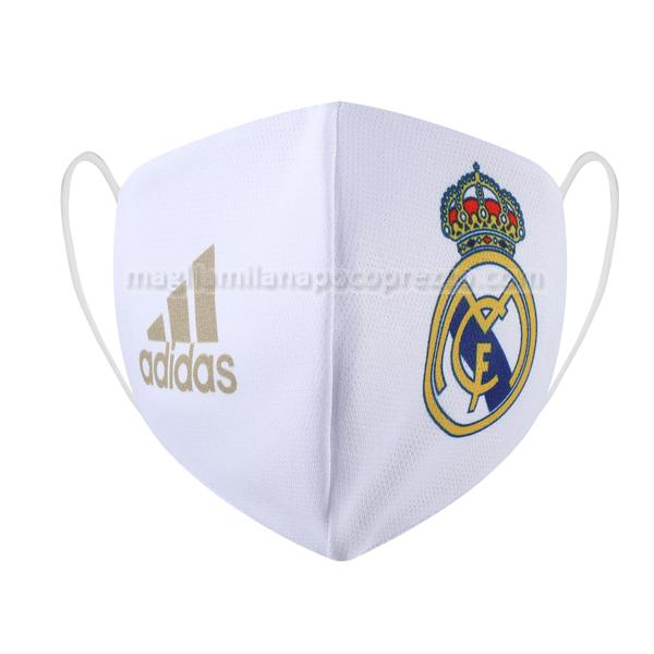mascherina facciale real madrid home 2020